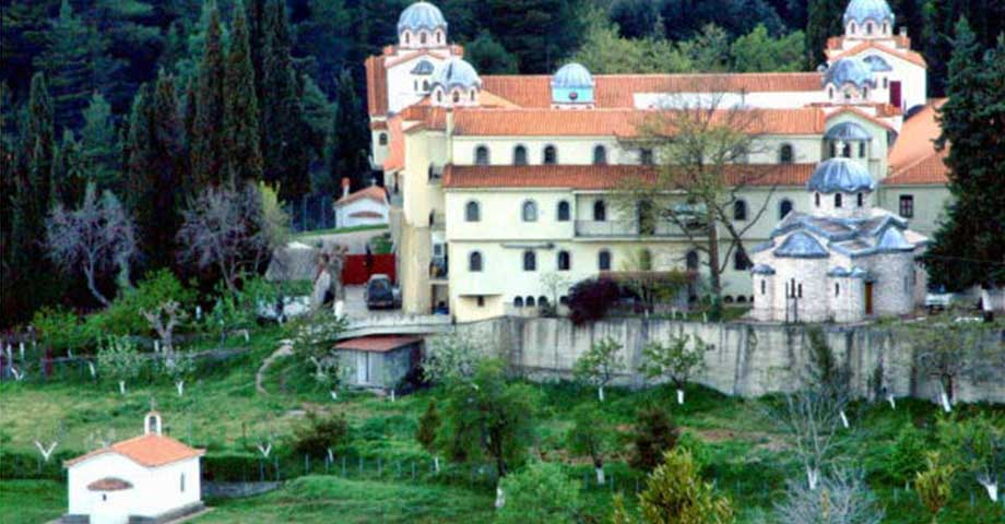 Greece Travel: О-в Эвбея: обитель блж.Давида, Карпениси, мон. Пруссос, празднование Рождества (фото 15)