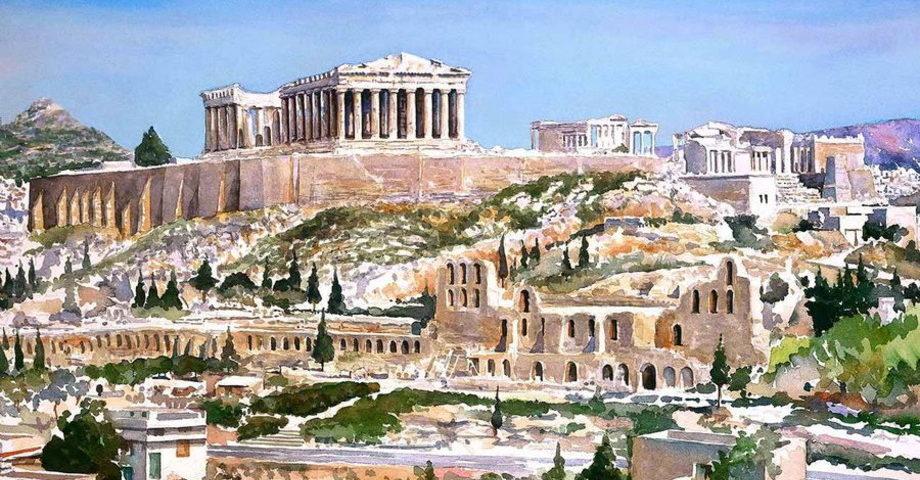 Афинская Агора. Керамикос. Акрополь (фото 5)