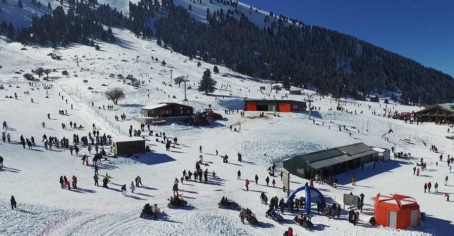 Калаврита: горнолыжный курорт (фото 7)
