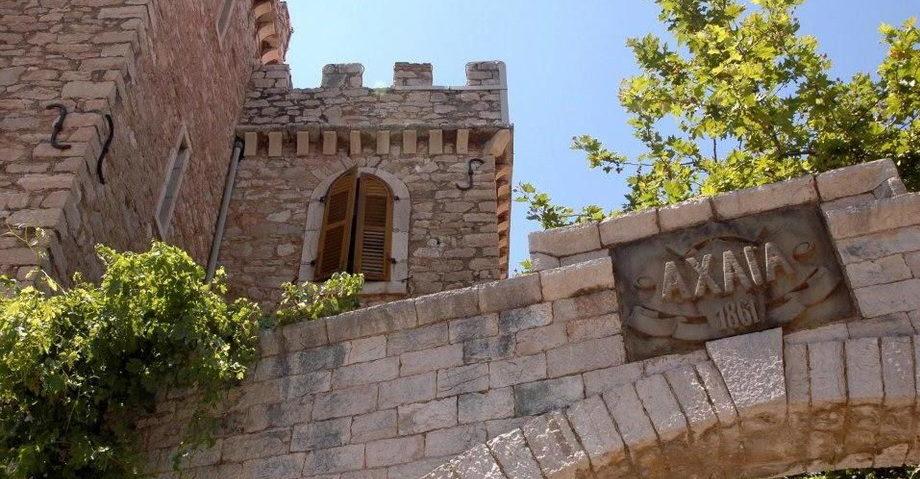 Карнавал в Патрах, замок-винодельня Ахайя-Клаус (фото 13)