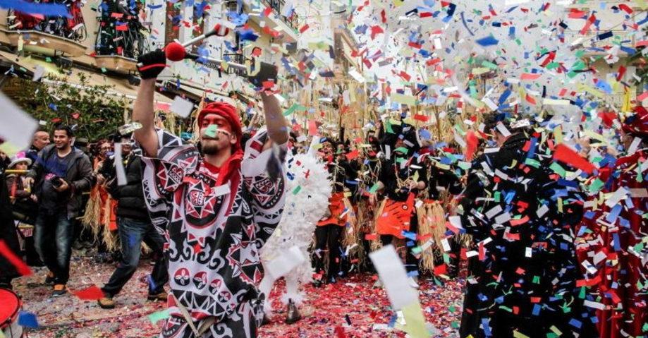Карнавал в Патрах, замок-винодельня Ахайя-Клаус (фото 4)