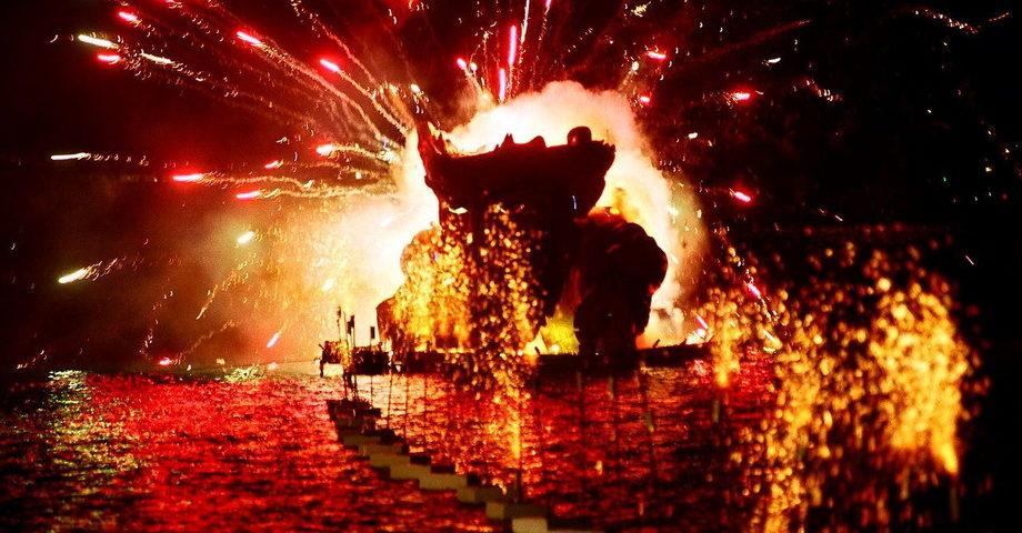 Карнавал в Патрах, замок-винодельня Ахайя-Клаус (фото 1)