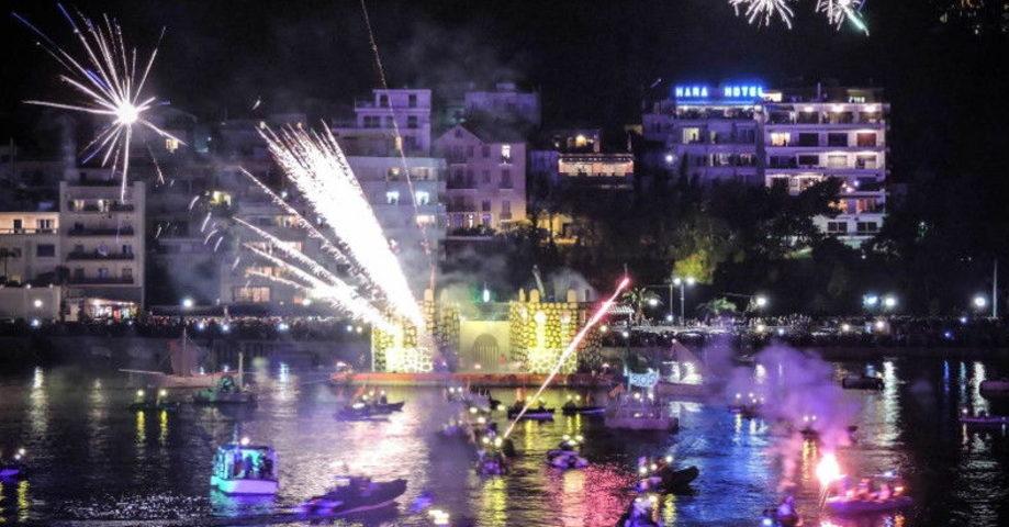 Морской карнавал в Халкиде (фото 1)