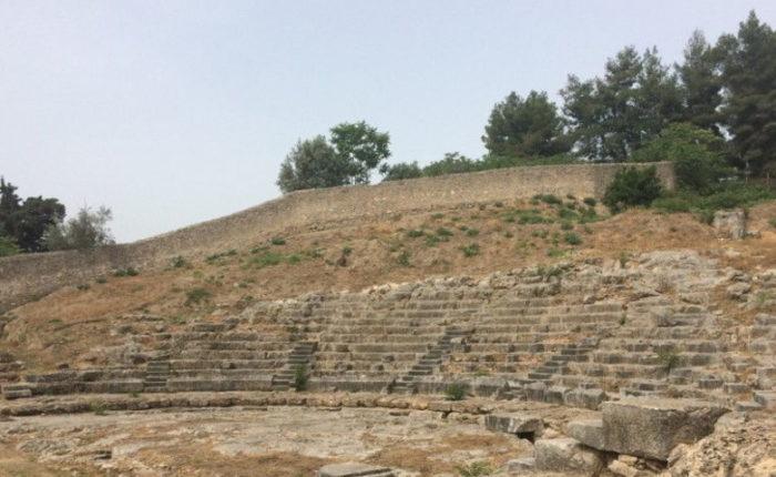 Орхомен, источник Трех Граций, Монастырь Богородицы Скрипус, Ливадья (фото 5)