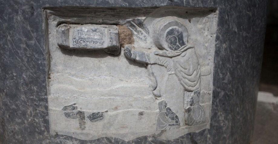 Орхомен, источник Трех Граций, Монастырь Богородицы Скрипус, Ливадья (фото 7)