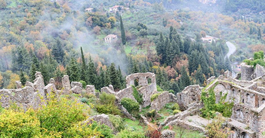 Мистра – последний оплот Византии. Спарта: путь героев (фото 4)