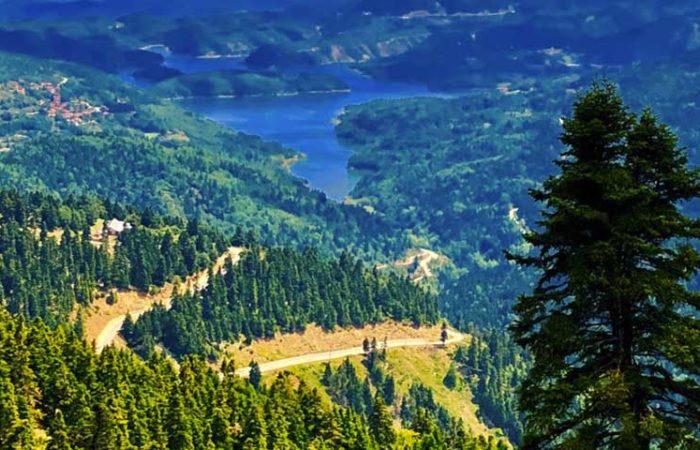 Greece Travel: Озеро Цивлу (пикник), деревушка Зарухла (фото 2)