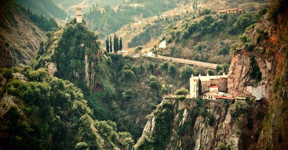 Рождество 2021 (24-25-26 декабря): Ливадья, Хиронеа, Амфиклия, Ипати, Карпениси, монастырь св.Агафона, Павлиани (фото 1)