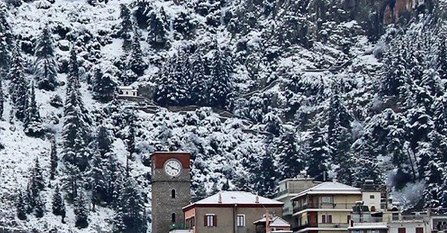 Рождество 2021 (24-25-26 декабря): Ливадья, Хиронеа, Амфиклия, Ипати, Карпениси, монастырь св.Агафона, Павлиани (фото 6)