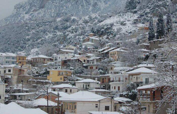 Рождество 2021 (24-25-26 декабря): Ливадья, Хиронеа, Амфиклия, Ипати, Карпениси, монастырь св.Агафона, Павлиани